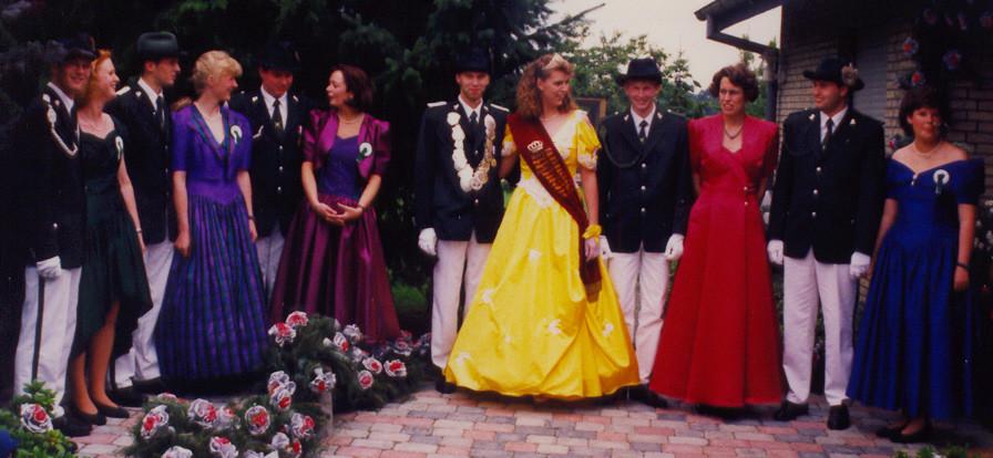 1996: König Markus Jüttner und Königin Silvia Lengfeld