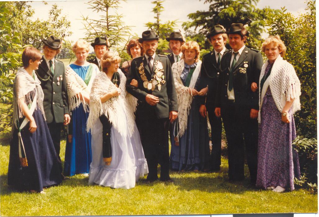 1983: Kaiser Josef Jüttner und Kaiserin Maria Jüttner