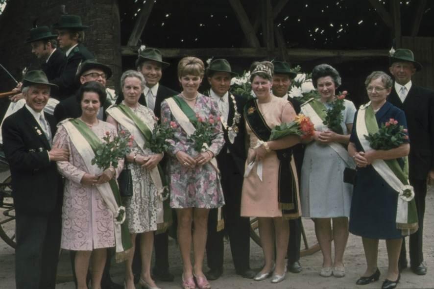 1970: König Heinz Pomberg und Königin Maria Pomberg