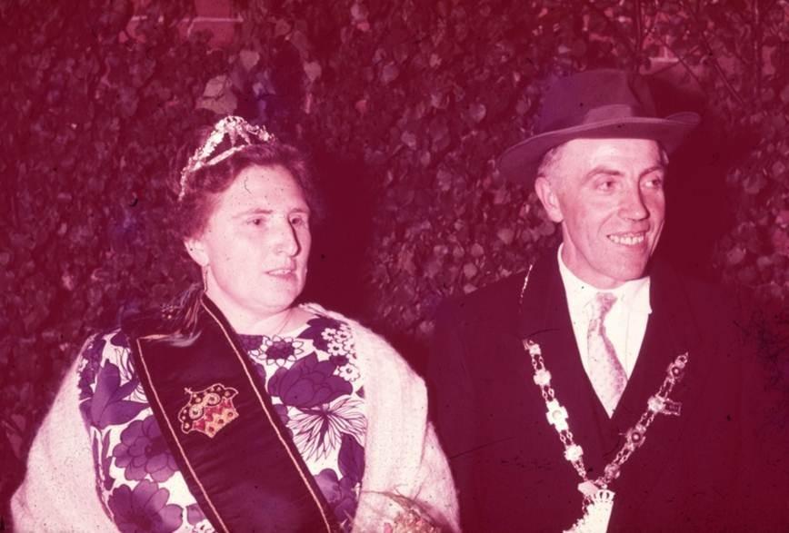 1963: König Heinrich Herte und Königin Änne Herte
