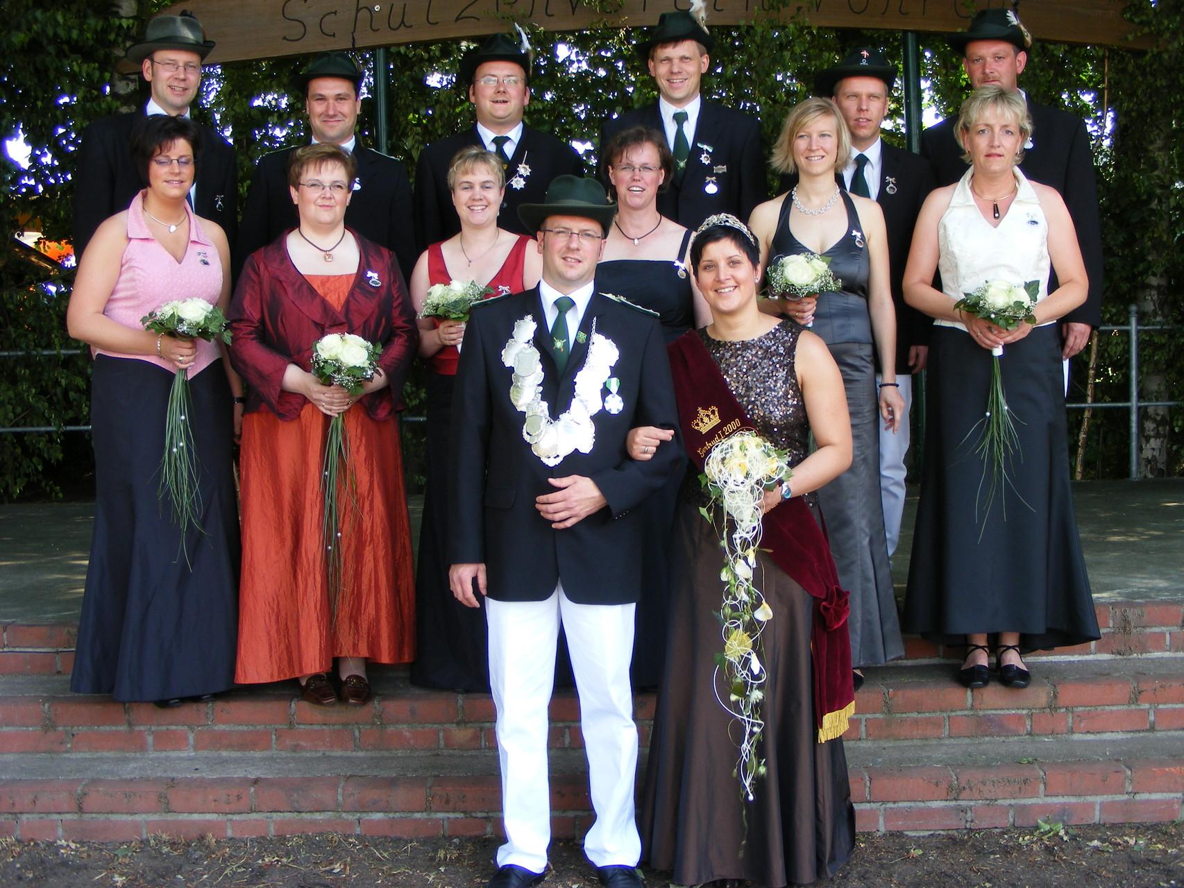 2007: König Andreas Große Hartmann und Königin Silvia Kiese