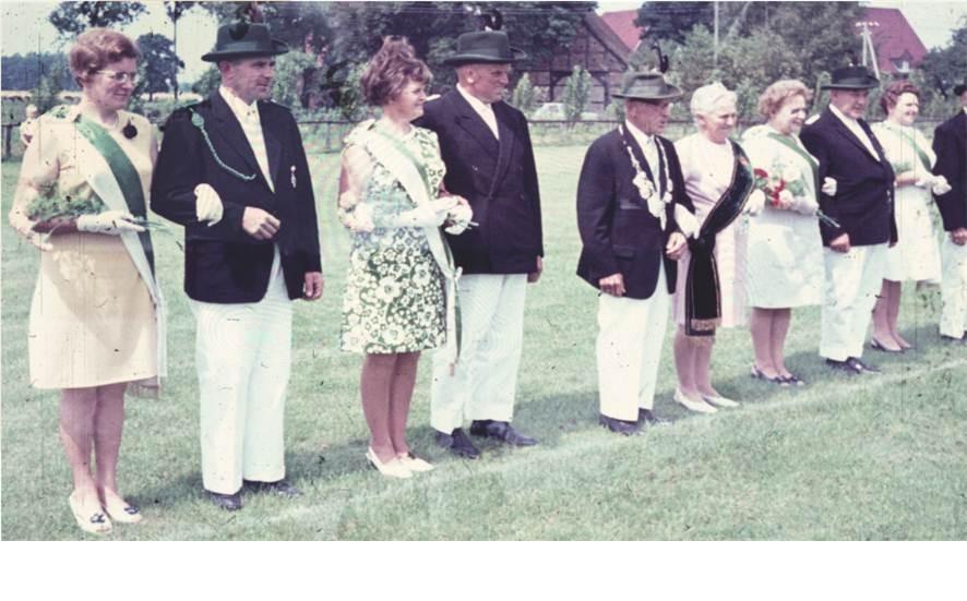 1968: König Theodor Haarmann und Königin Sissi Haarmann
