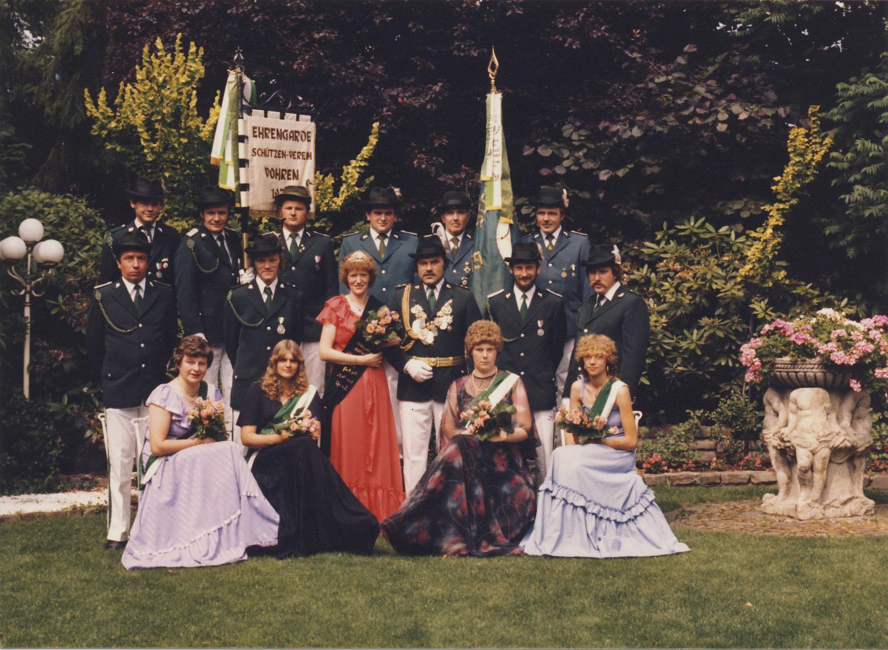 1982: König Theo Jüttner und Königin Christa Jüttner