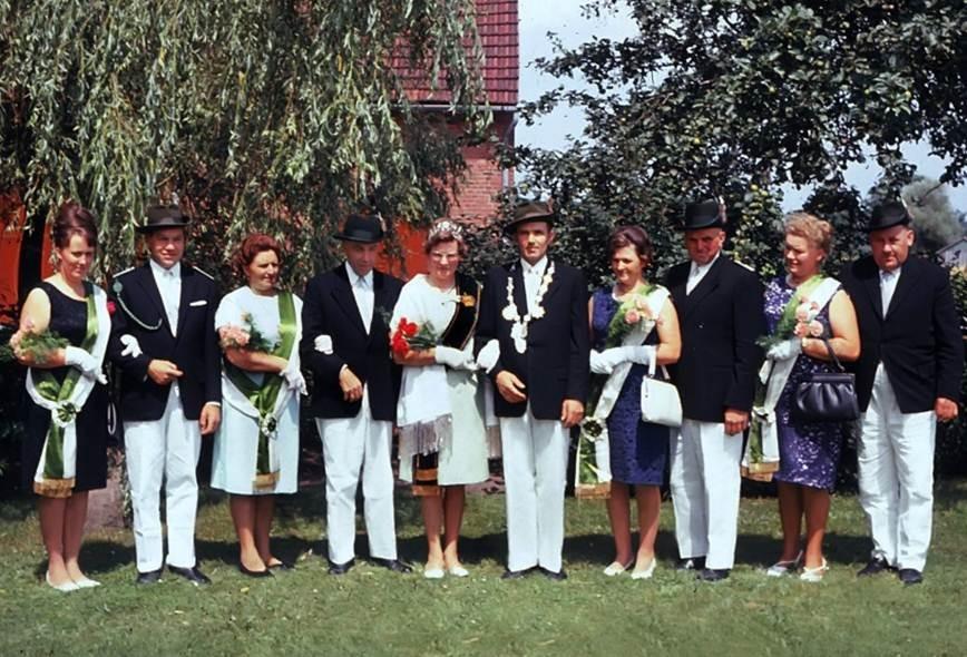 1966: König Heinrich Imkamp und Königin Paula Imkamp
