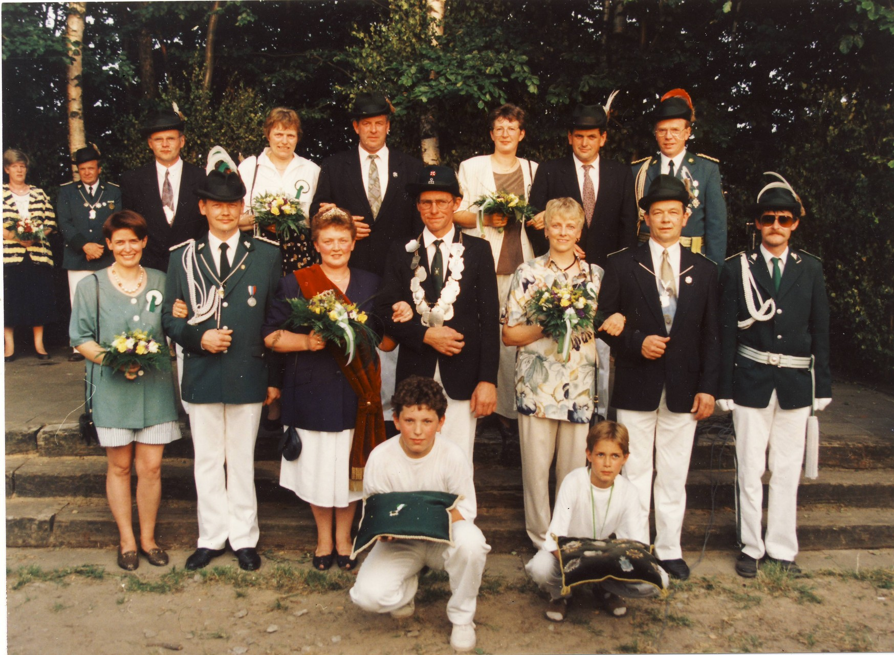 1994: König Hubert Schwakenberg und Königin Maria Schwakenberg