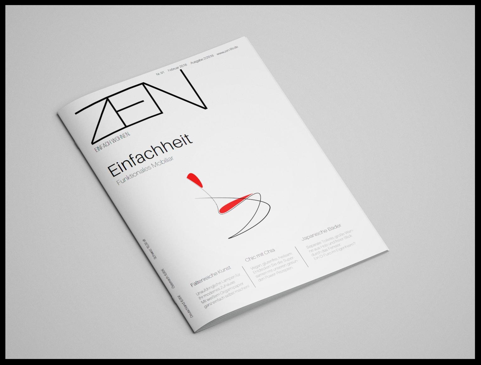 Editorial design zeitschriftencover sch pfergeist Wohn zeitschrift