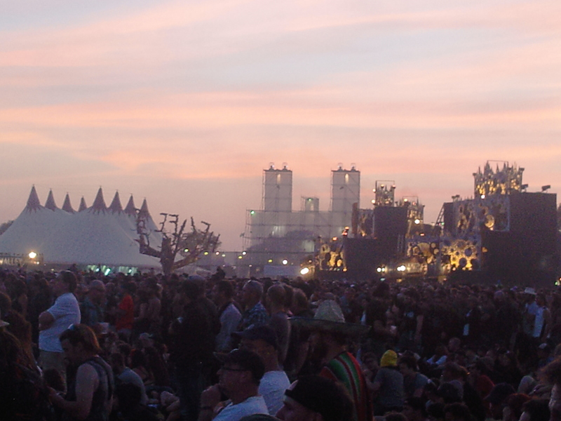 Festival area