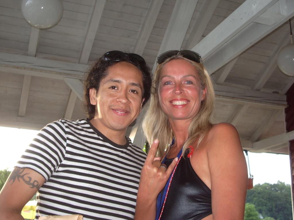 Reina & Ricardo, Pantéon Rococó, May, 2007