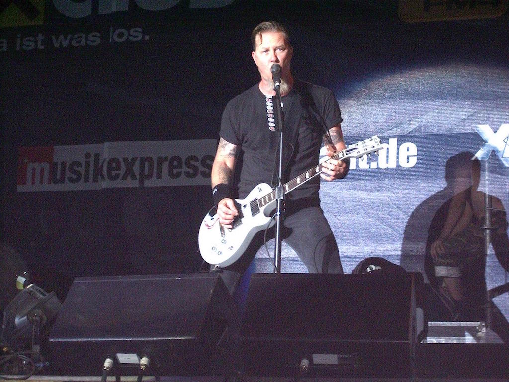 James Hetfield, Novarock 2006