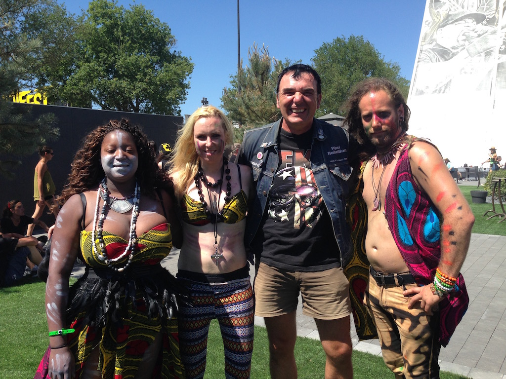 With Vodun, Hellfest 2017