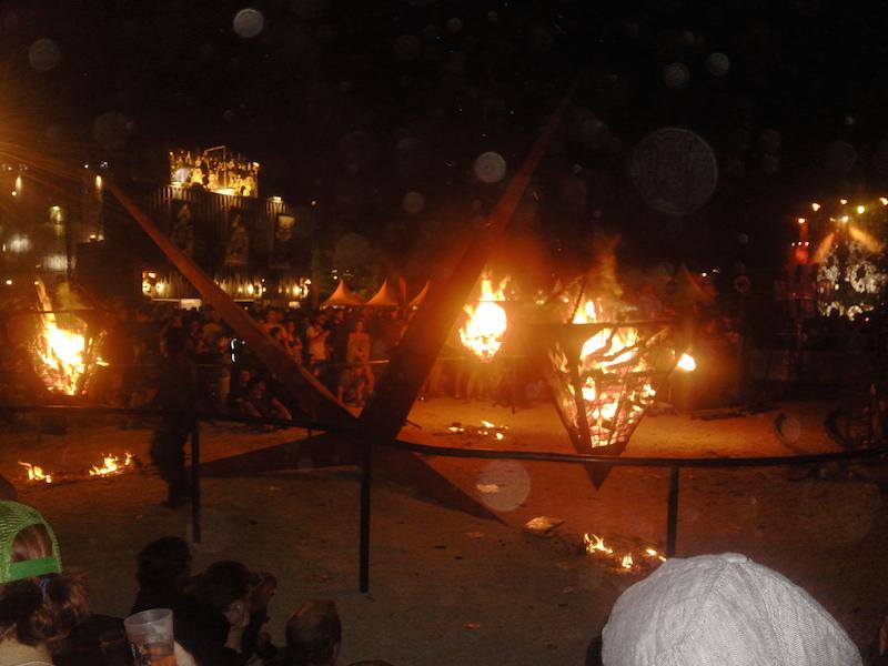 Campfire side
