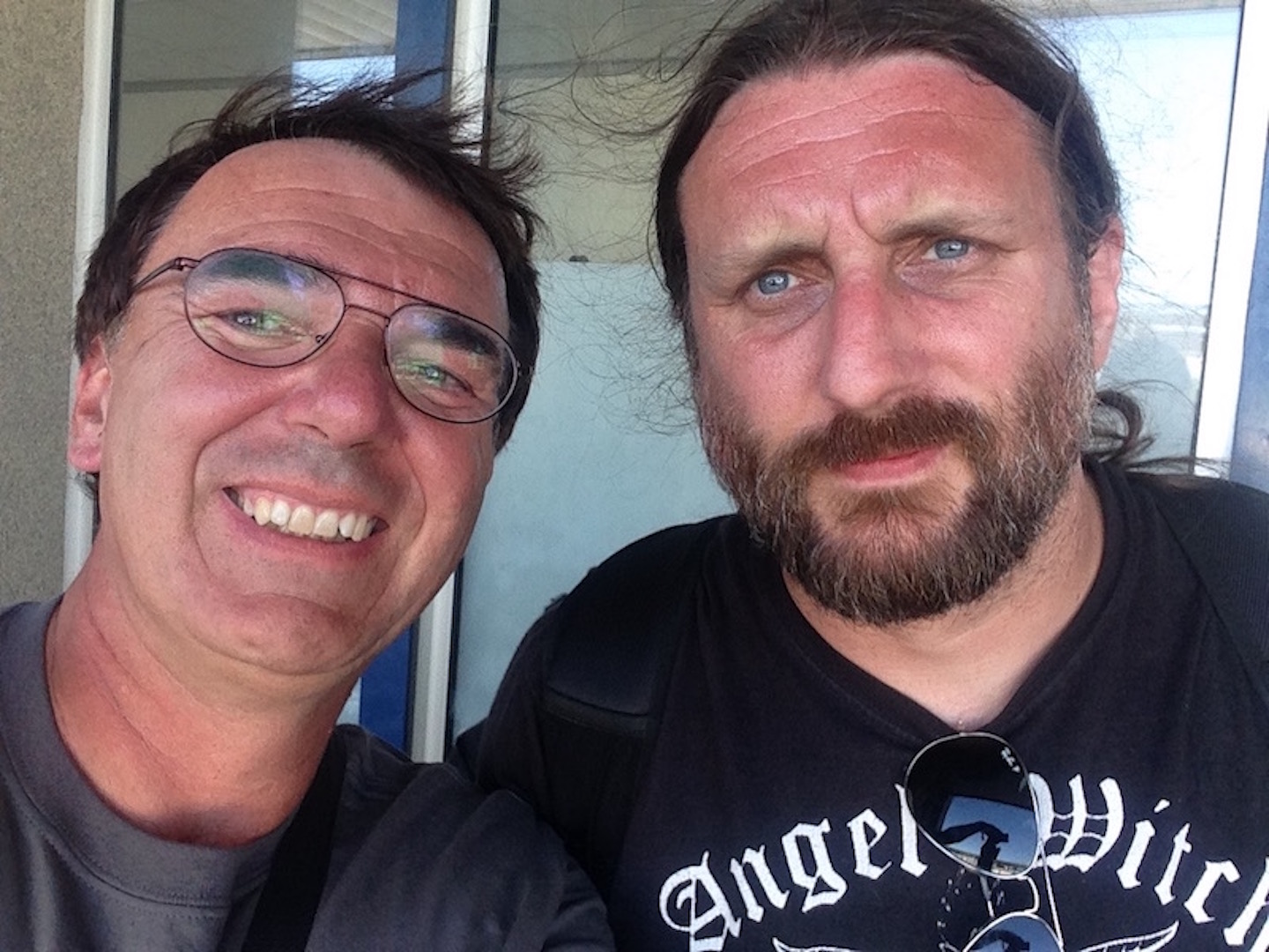 With Ben Ward (Orange Goblin), Hellfest 2018