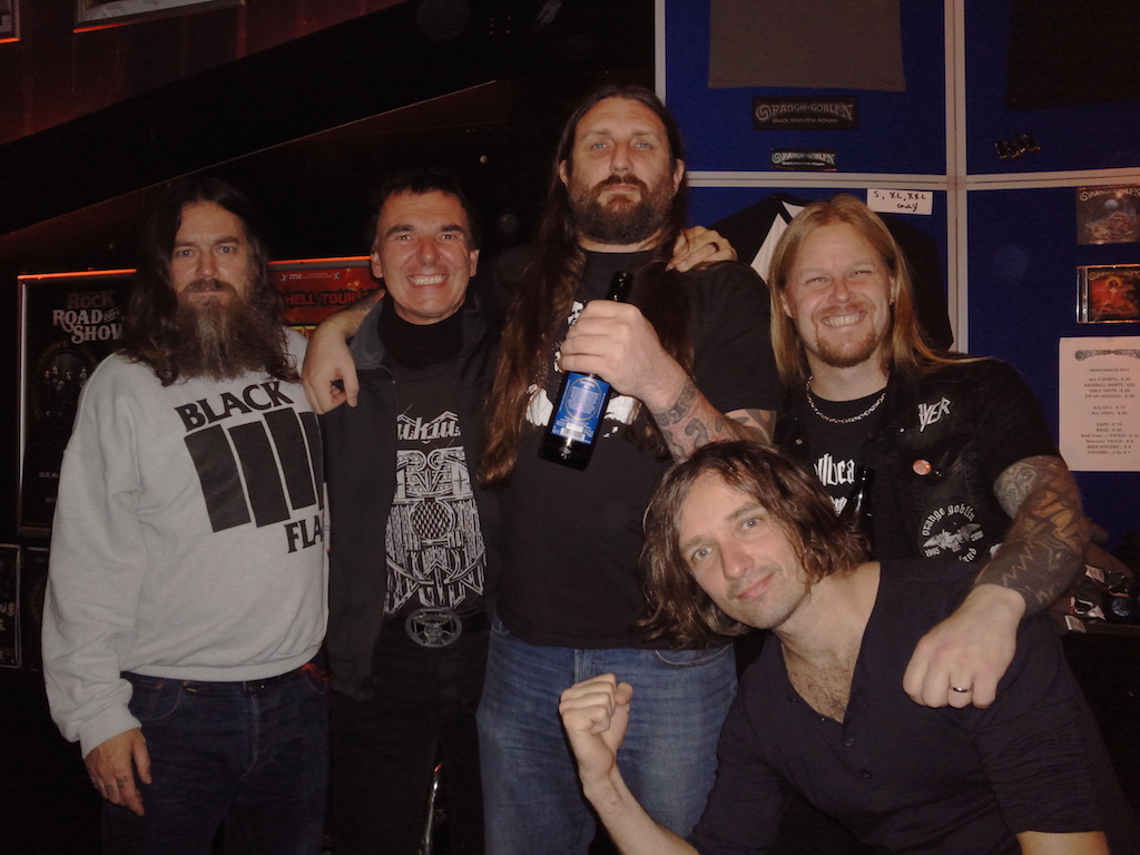 With Orange Goblin, Munich Backstage, Oktober 2014