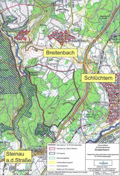 Windpark Breitenbach