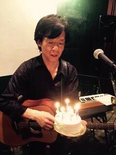15周年のサプライズにゃらんケーキ-Ryu Heyzo LIVE vol.02「眠らないバックグラウンドミュージック」