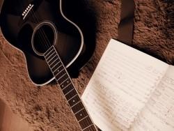 ギターレッスン風景