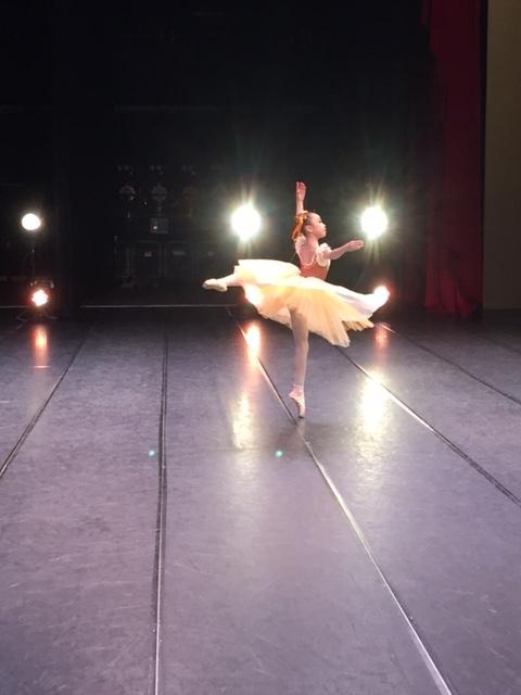 クラシック部門 第4位 和田つばき(小5)スワニルダ 第1幕のVA