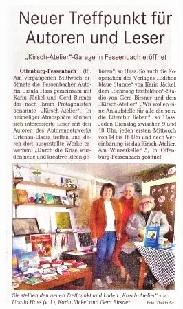 Stadtanzeiger Ortenau von Christina Großheim am 16. 10. 2020