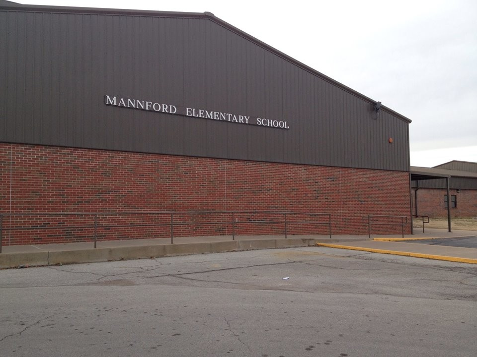 Mannford Elementary School, grades 1-3