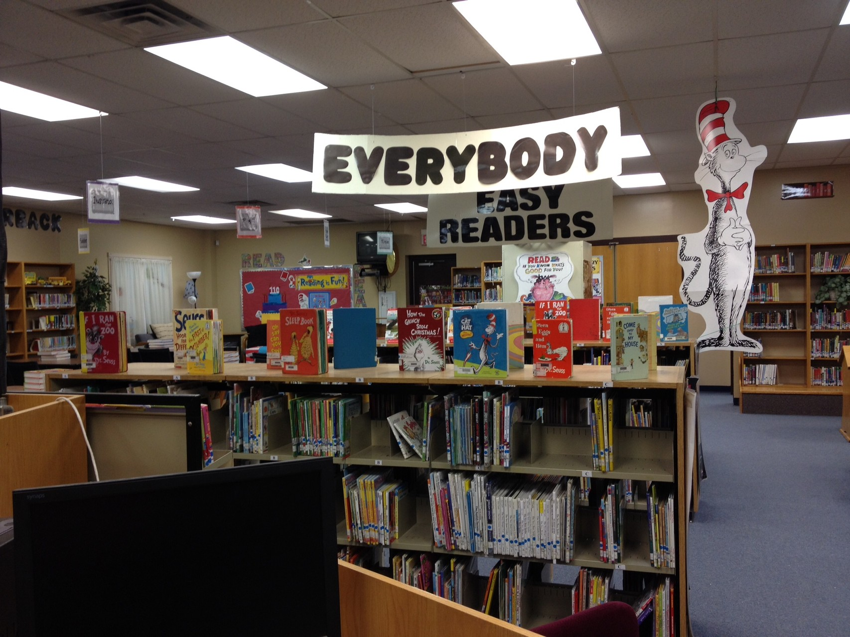 Everybody and Easy Reader Shelves - for all readers