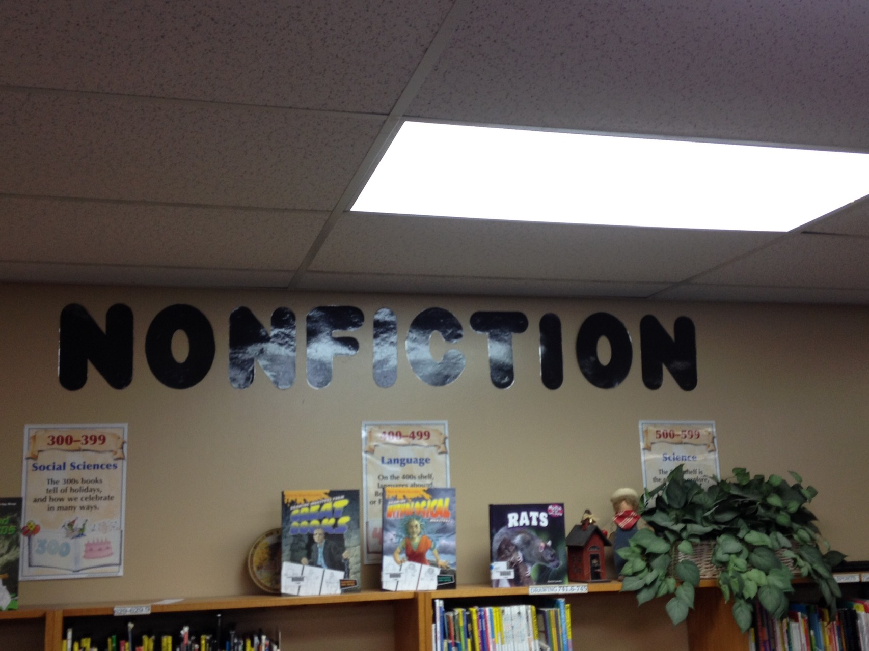 Nonfiction Wall 3rd-5th grades
