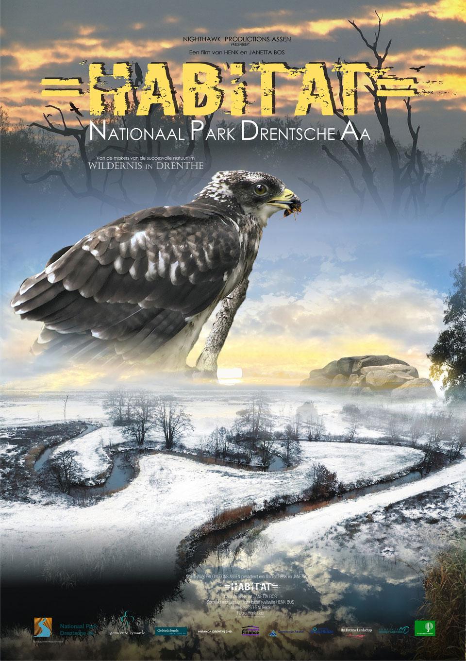 De prachtige Film Habitat in Ons Dorpshuis op zaterdag 25 september