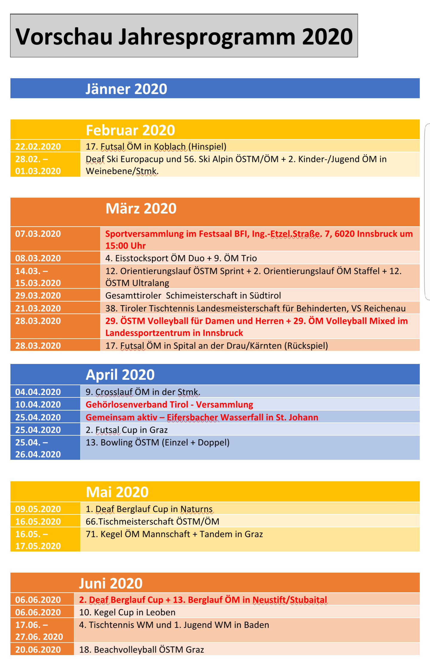 """Jahresüberblick 2020"""