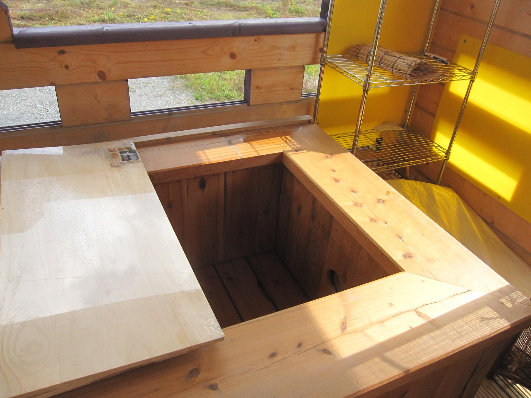 The蜩砦の霊泉・露天風呂