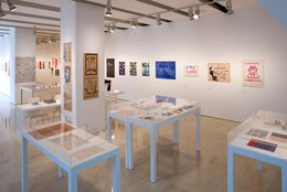 On the Margins of Art, curatorship: Guy Schraenen, exhibition view, MACBA Barcelona
