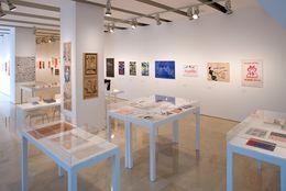 On the Margins of Art, curatorship: Guy Schraenen, exhibition view, MACBA Barcelona