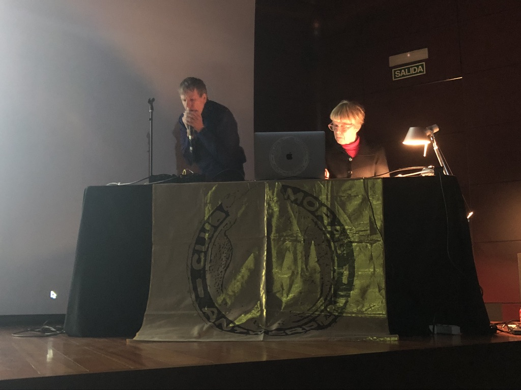 Live concert by Club Moral on occasion of the homage to Guy Schraenen, Museum Reina Sofia, Madrid 2020