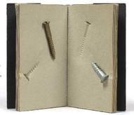 Roy Adzak: Screws, 1976, Guy Schraenen éditeur artists' books Künstlerbücher livres d'artistes