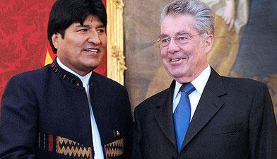 Staatsbesuch des bolivianischen Präsidenten in Wien