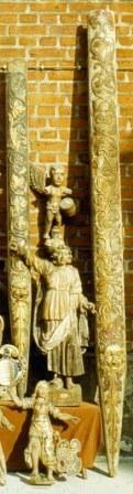 Bernau bei Berlin, Hans Scherer d. Ä., 1572/73, erhaltene Reste