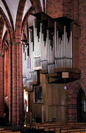 Neuruppin, VEB Frankfurter Orgelbau Sauer, 1984