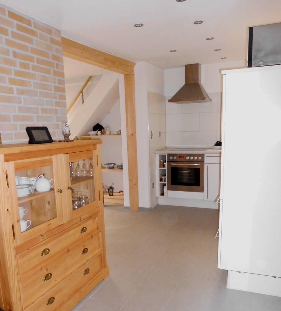 Erdgeschoss - Offene Küche