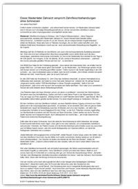 Artikel zu Zahnfleischlifting in Frankfurter Neue Presse