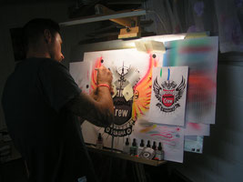Airbrushkurs  Custom Painting