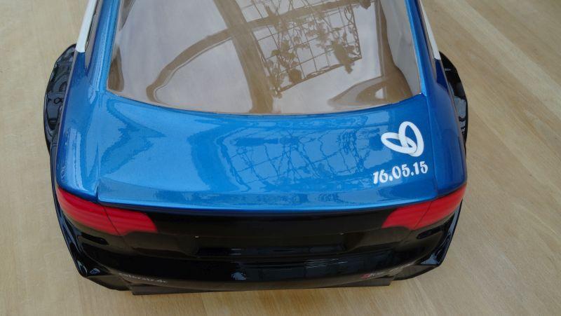Audi RC Car mit Sonderlackierung