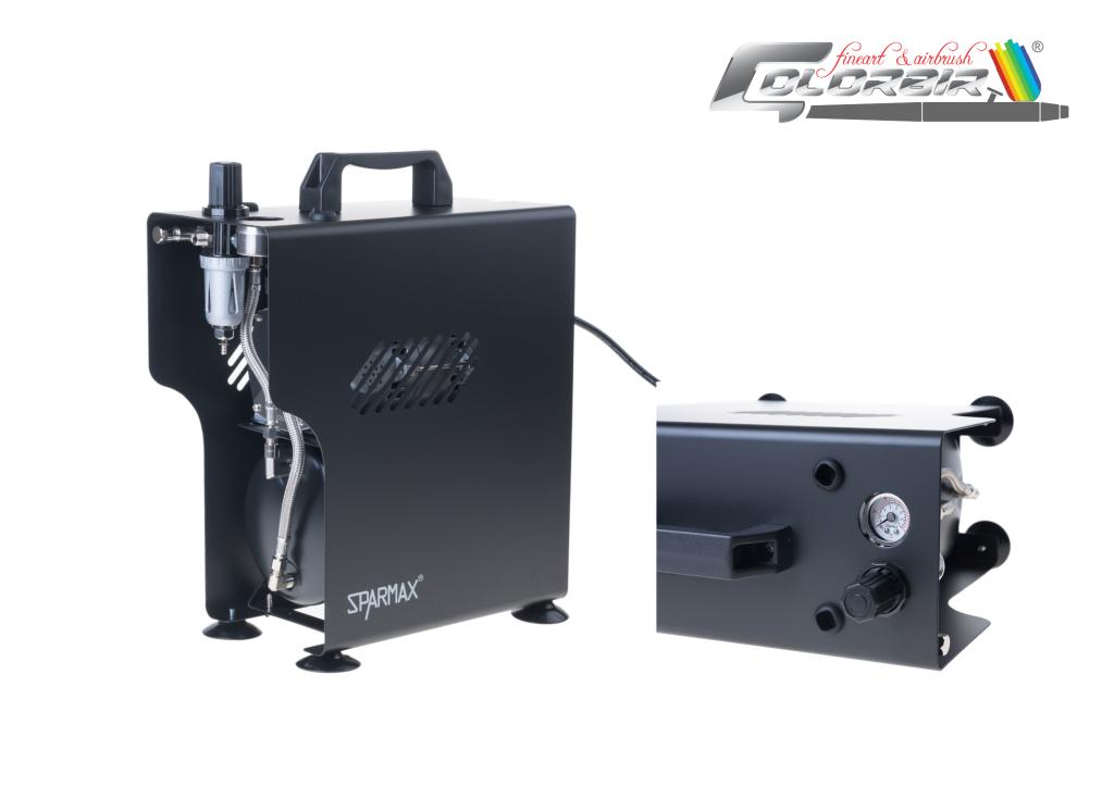 Profiausführung: Sparmax TC 610 H Ölfreier Kompressor in sehr guter Qualität