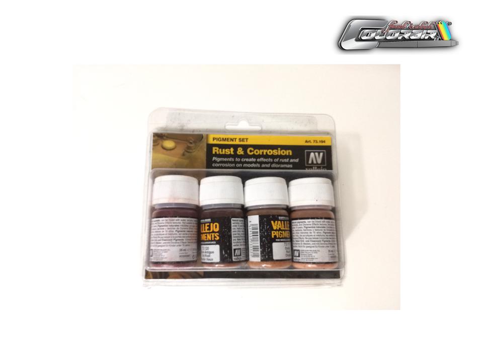 Vallejo Pigment Rust & Corrision