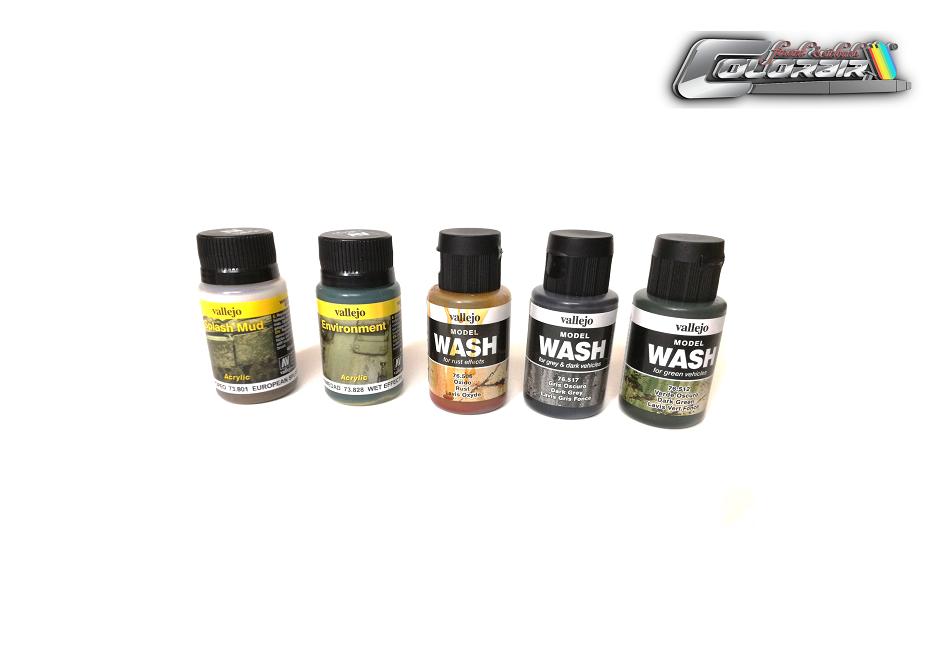 Vallejo Model Wash  und Enviroment