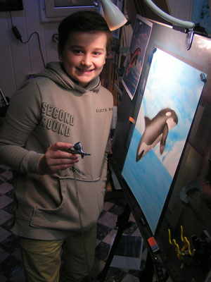 Airbrushkurs Orca
