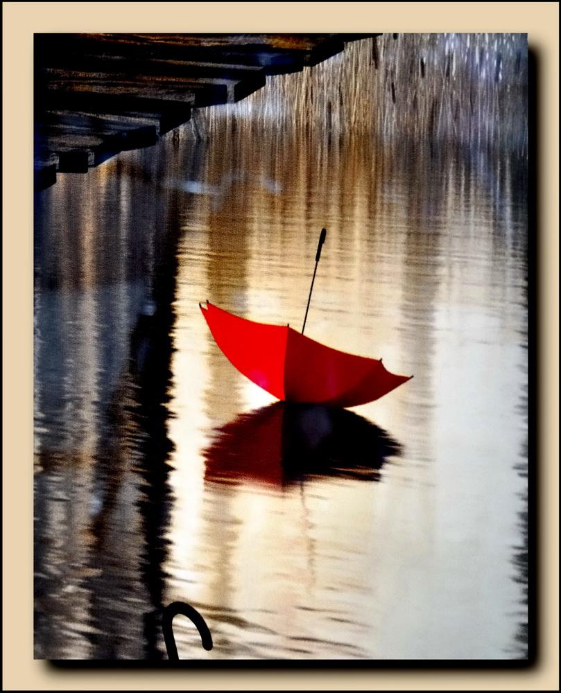 »Der rote Regenschirm«