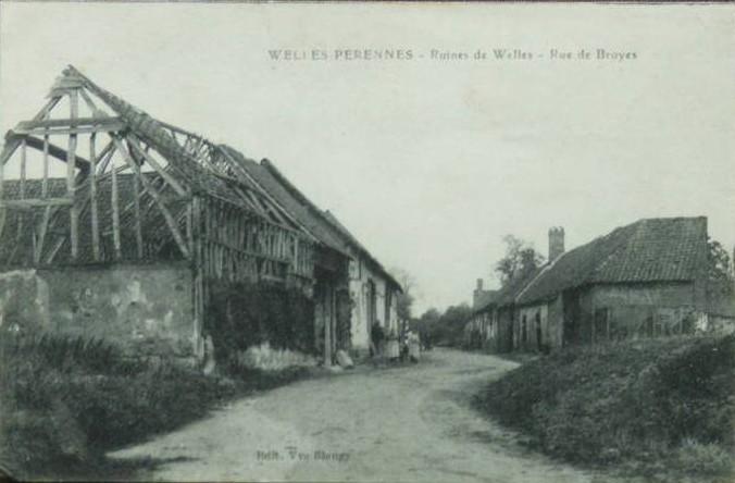 Welles, rue de Broyes