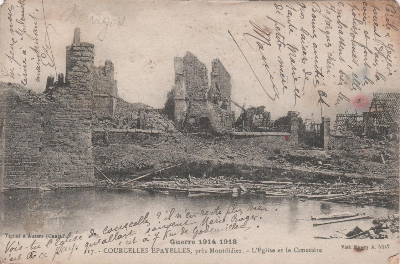 L'Eglise et le Cimetière (collection particulière)