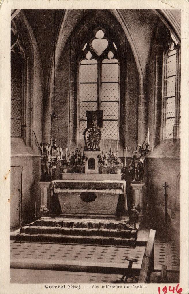 Vue intérieure de l'Eglise (collection particulière)