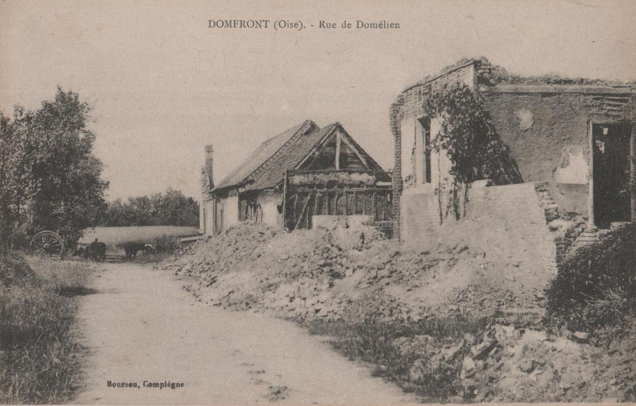 Rue de Domélien (collection particulière)
