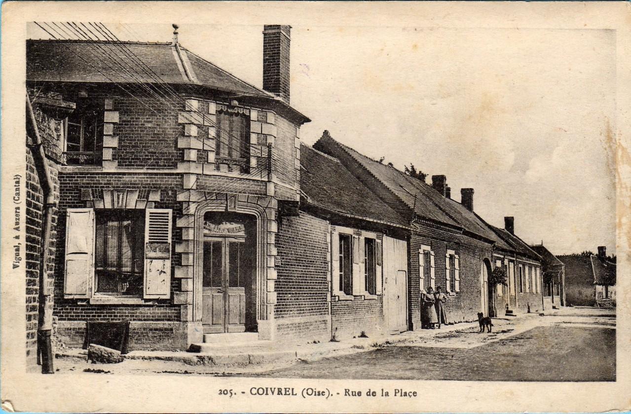 La Rue de la Place - aujourd'hui Grande Rue (collection particulière)
