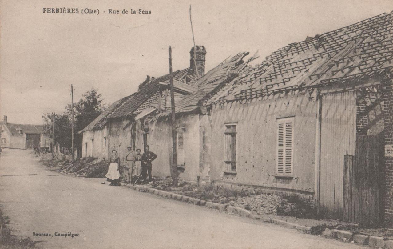 Rue de la Sens (collection particulière)